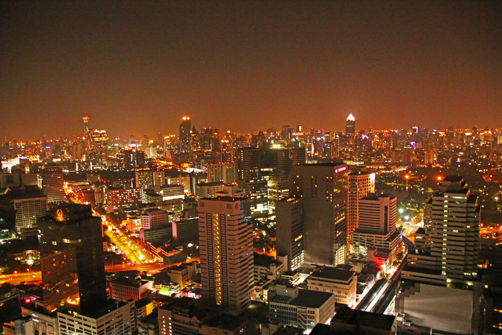 Ausblick auf Bangkok vom Cloud 47 - Travel Massive at TBEX