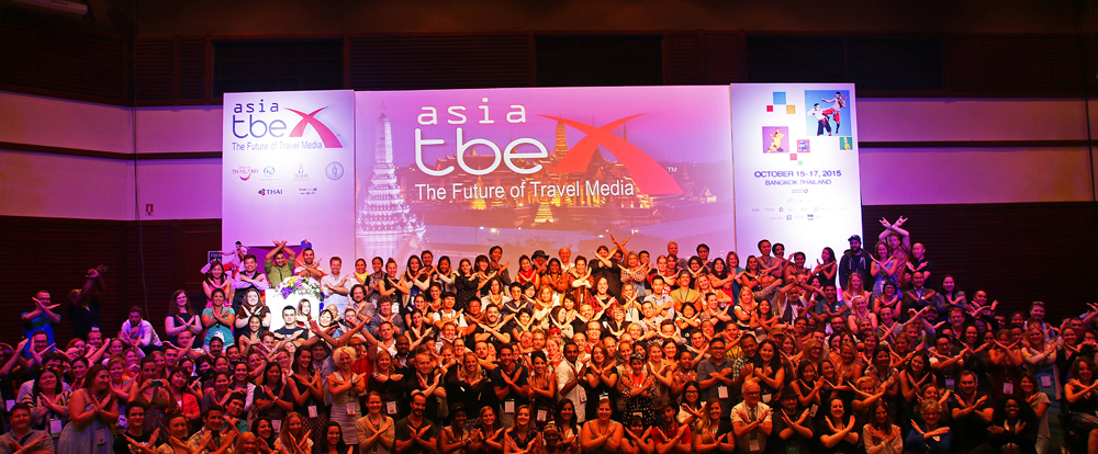 Meeting lots of interesting people at TBEX Asia in Bangkok 2015