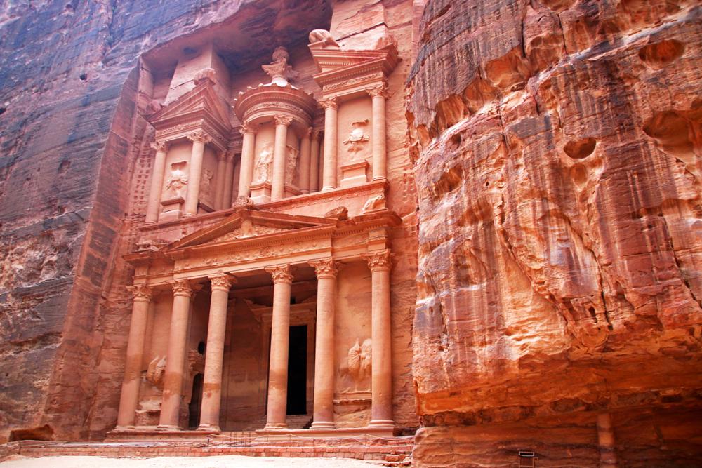 Schatzhaus Petra Wadi Musa Jordanien Naher Osten