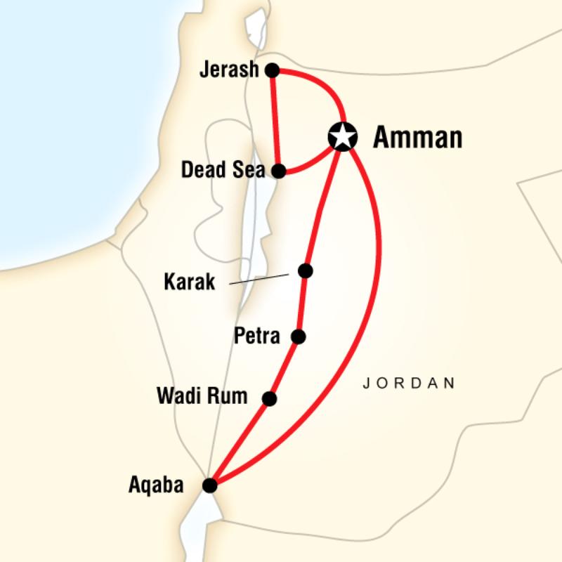 Jordan Tour G Adventures
