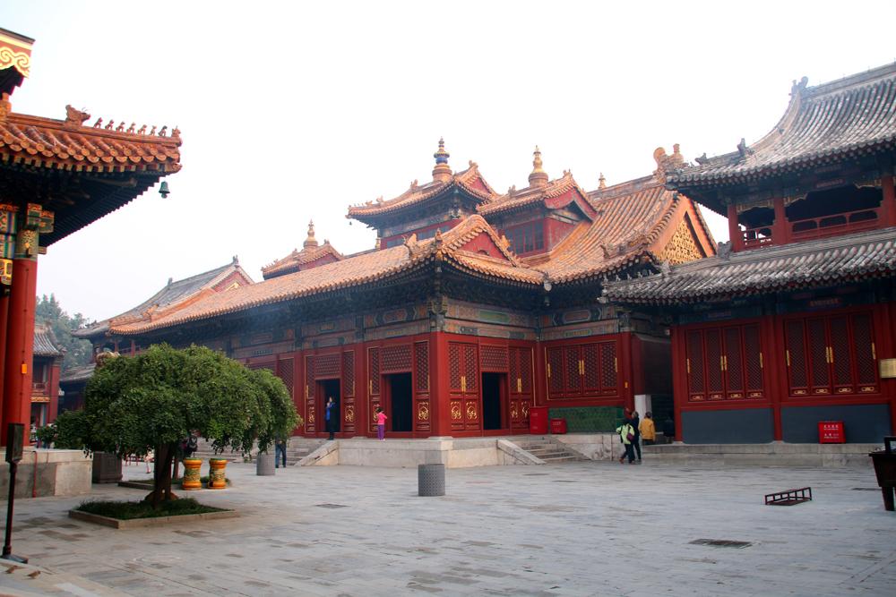 Lama-Tempel Yonghe Gong Peking China