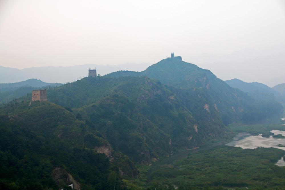 Chinesische Mauer Gubeikou Miyun Peking China Asien