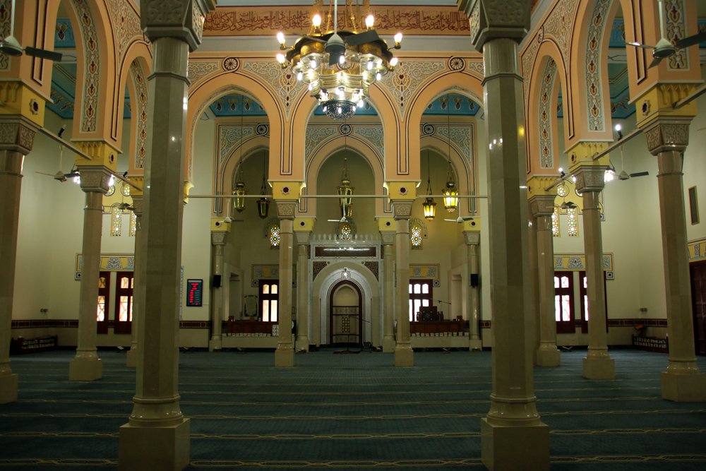 Jumeirah Mosque Dubai United Arab Emirates Persian Gulf