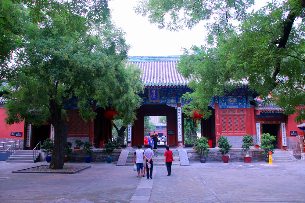 A hidden gem in Beijing: the Dongyue Miao Temple