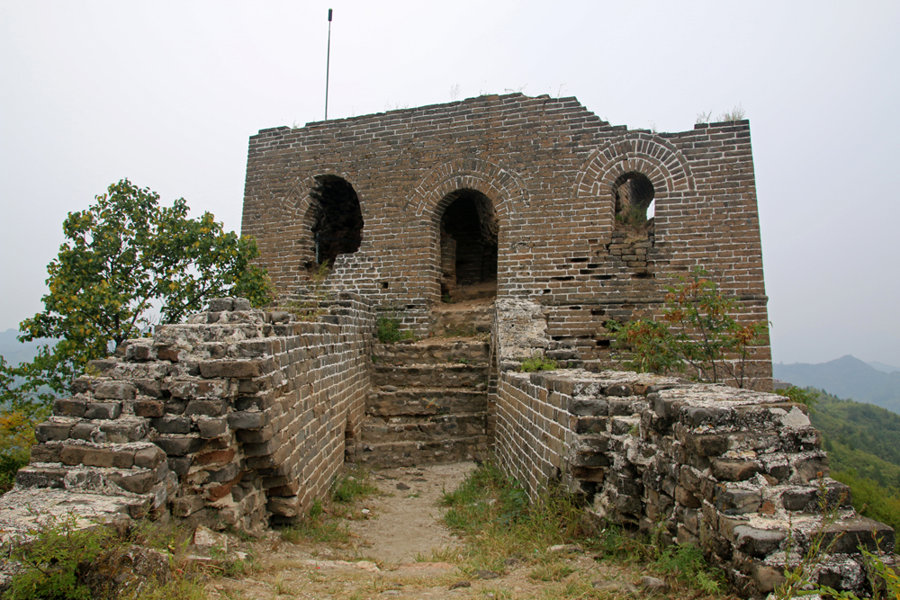 Watchtower Gubeikou Great Wall Miyun Hebei Beijing China Asia