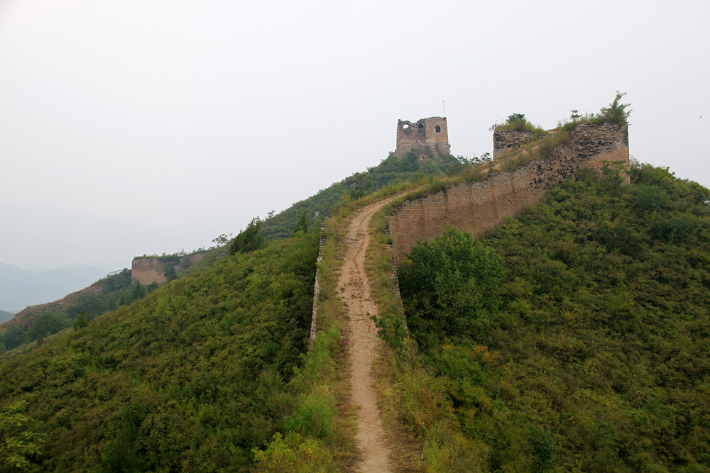 Chinesische Mauer Gubeikou Miyun Hebei Peking China Asien