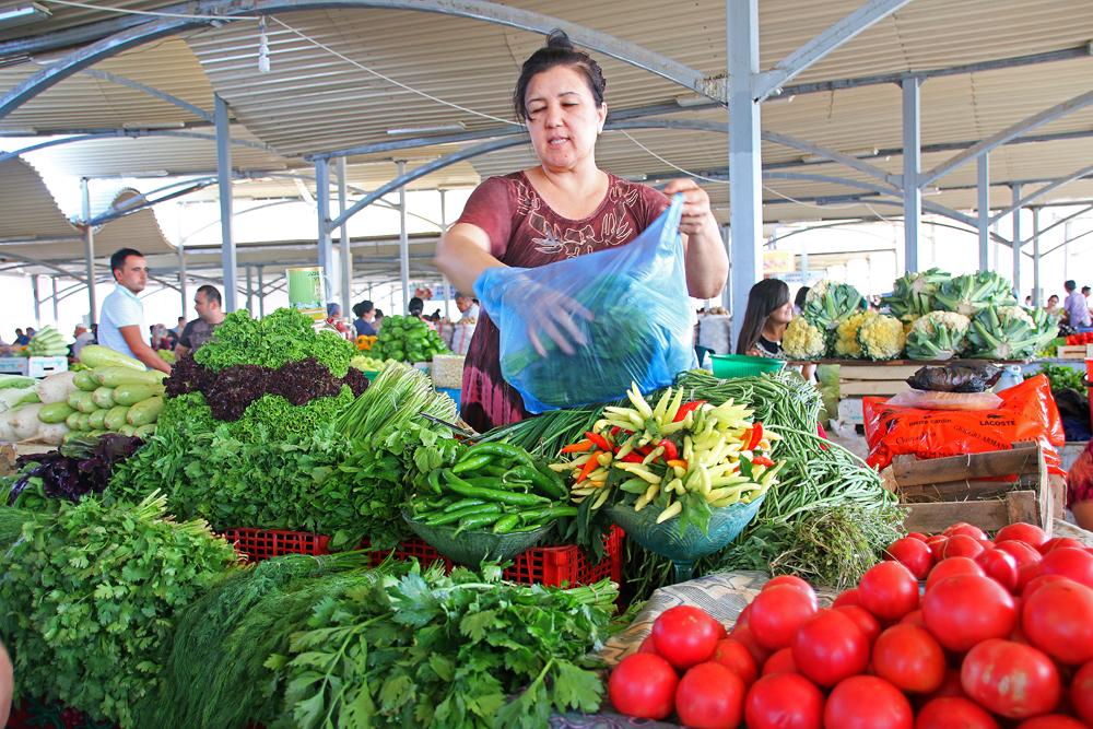 Höhepunkte von Taschkent Chorsu Basar