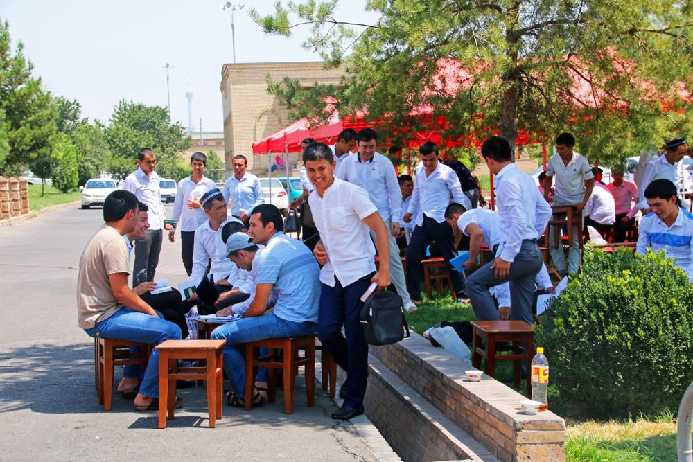 Höhepunkte von Taschkent usbekische Studenten
