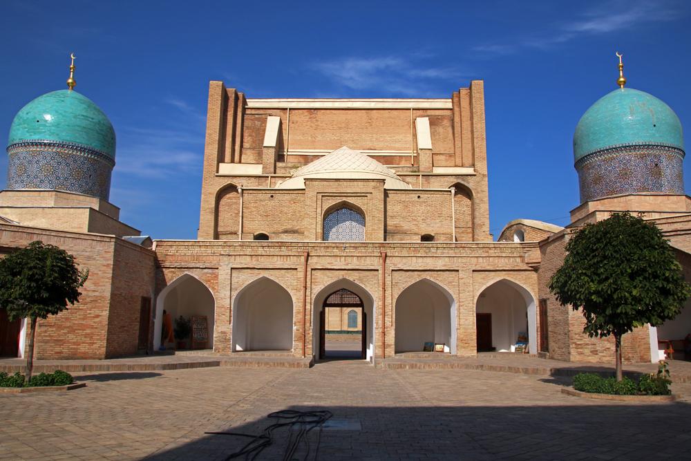 Höhepunkte von Taschkent Innenhof der Medrese Barak Khan