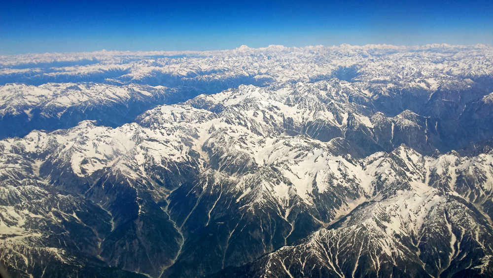 Travel blogger review 2016 - The Pamir Mountains from above