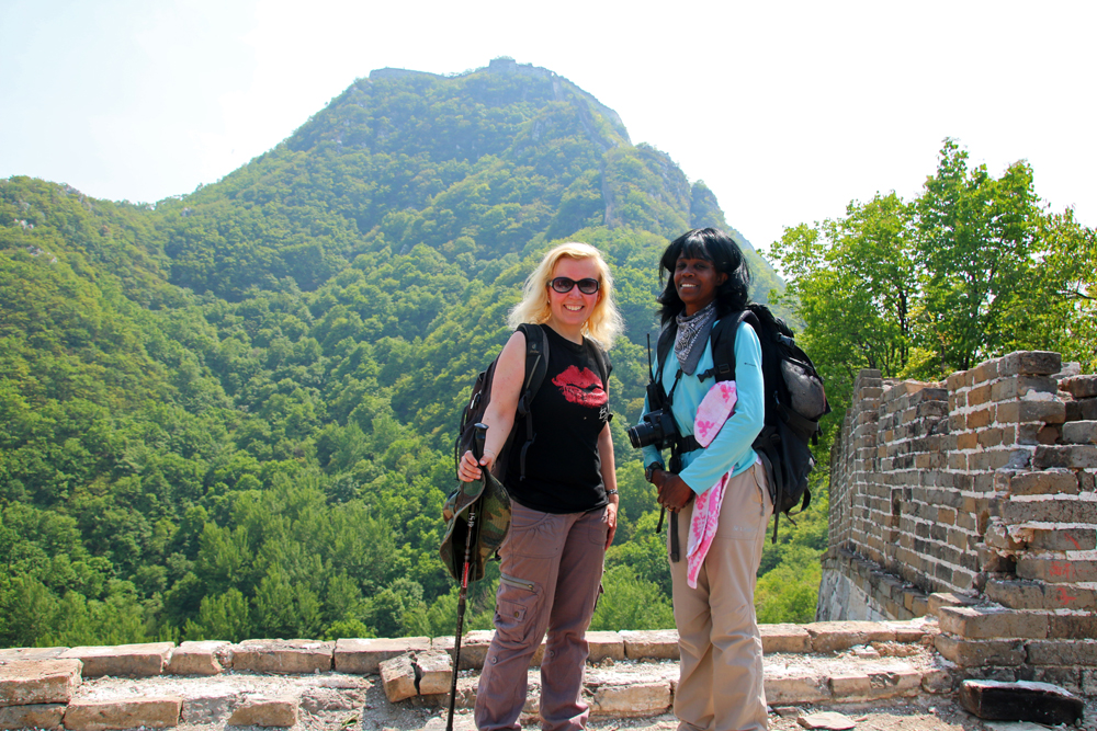 Travel Blog Review 2016 Jiankou Big West Great Wall