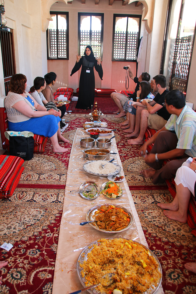 Reiseblogger-Rückblick 2016 - Kultures Mittagessen in Dubai