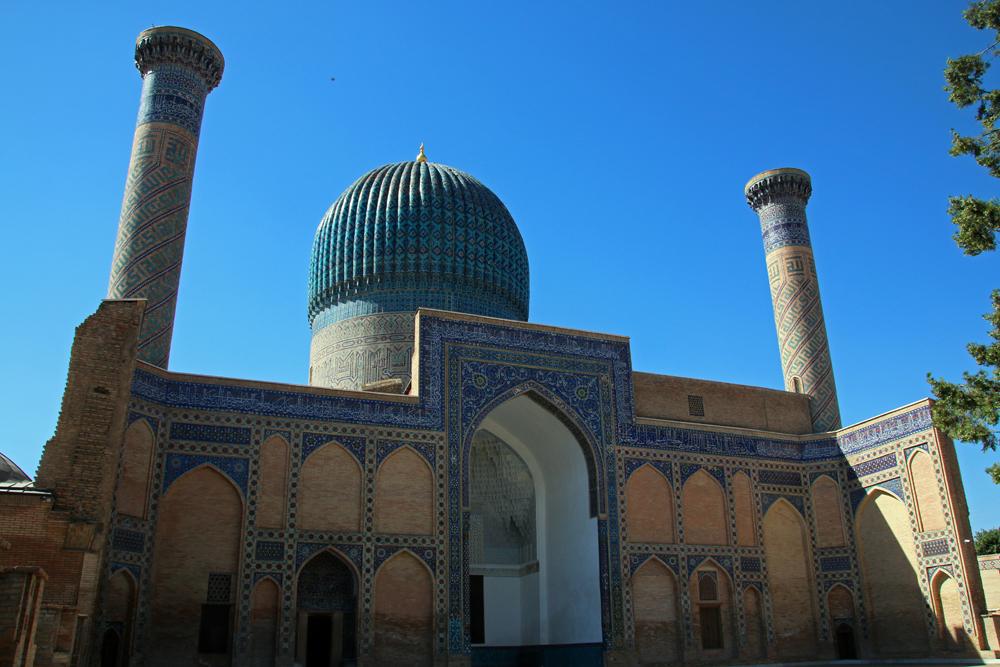 Reiseblogger-Rückblick 2016 - Gur-Emir-Mausoleum in Samarkand