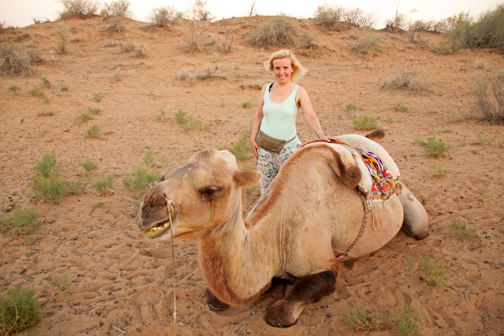 Reiseblogger-Rückblick 2016 - Wüste am Aydar Kŭl-See
