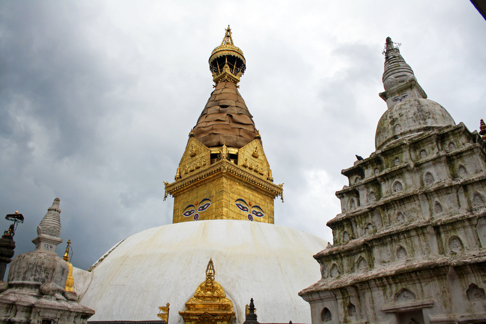 Travel bloggers tips for Bhutan - Swayambhunath Temple in Kathmandu