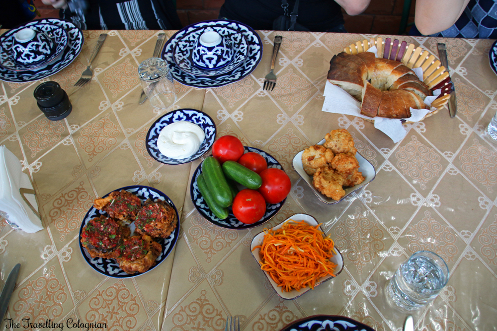 The Jewels of Samarkand - Plov cooking demonstration and dinner - appetizers