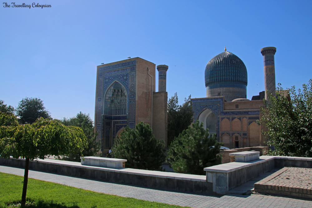 The Jewels of Samarkand - the Gur-E-Amir Mausoleum in the morning