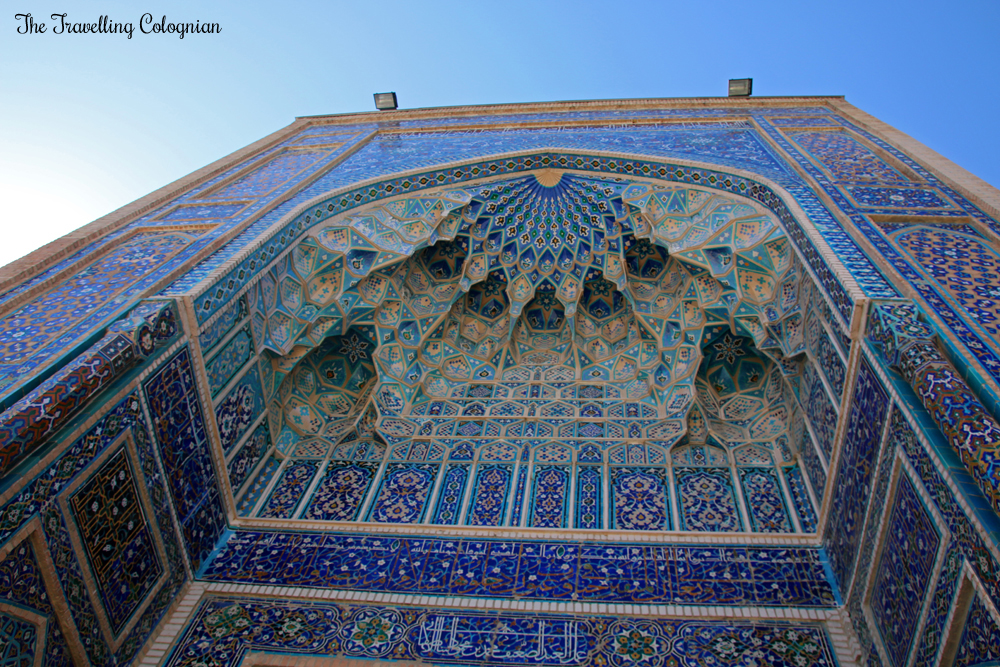 The Jewels of Samarkand - the Gur-E-Amir Mausoleum - the impressive entrance portal