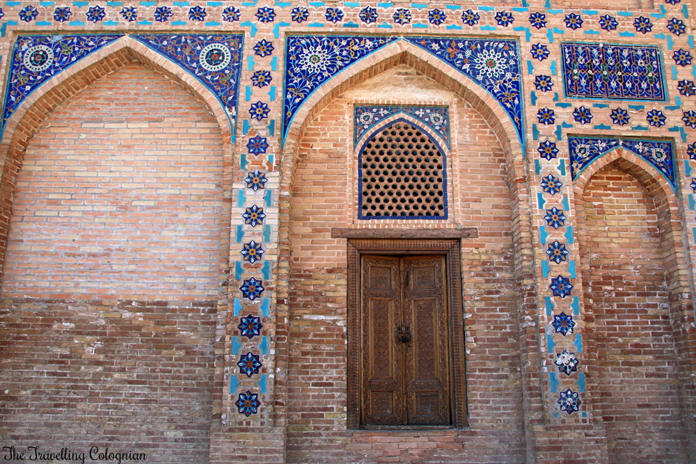 The Jewels of Samarkand - the Gur-E-Amir Mausoleum - elaborate ornamentations