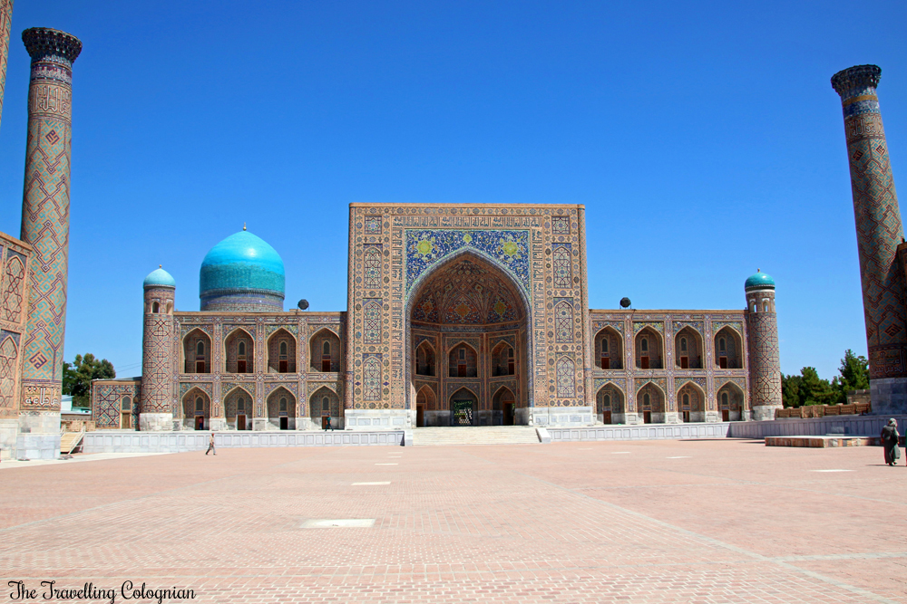 The Jewels of Samarkand - the Registan - Tilla Kori Medressa