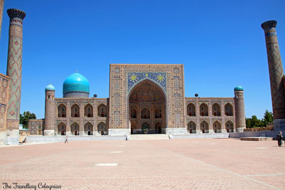 The Jewels of Samarkand - the Registan - Tilla Kori Medressa