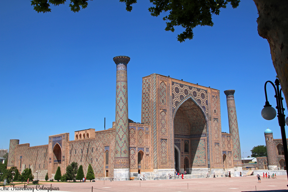 The Jewels of Samarkand - the Registan - Ulugbek Medressa
