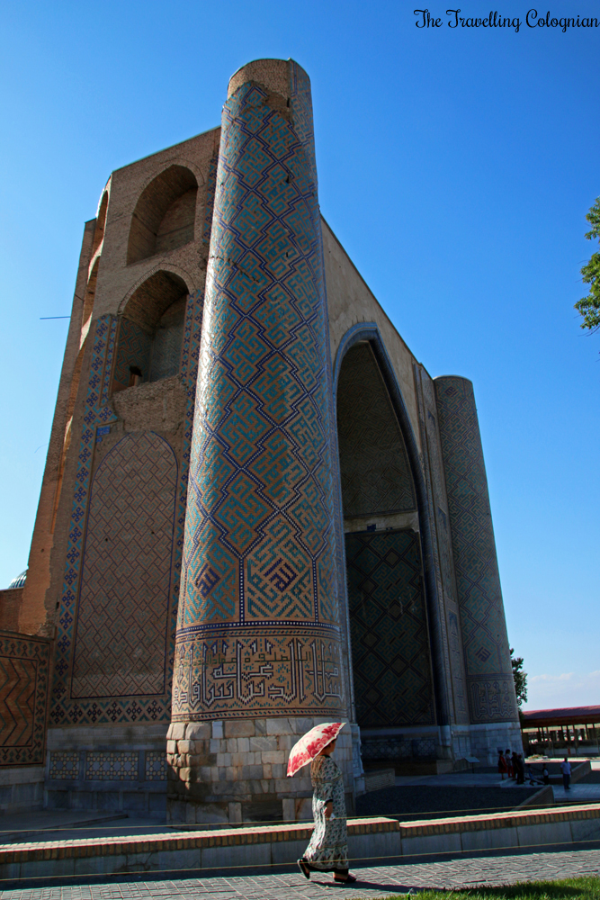 The Jewels of Samarkand - Bibi Khanym Mosque, seen from the