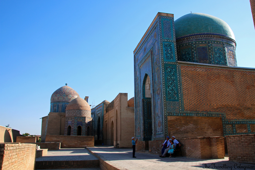 The - Jewels of Samarkand - Shah-i-Zinda - Domes and Mausoleums