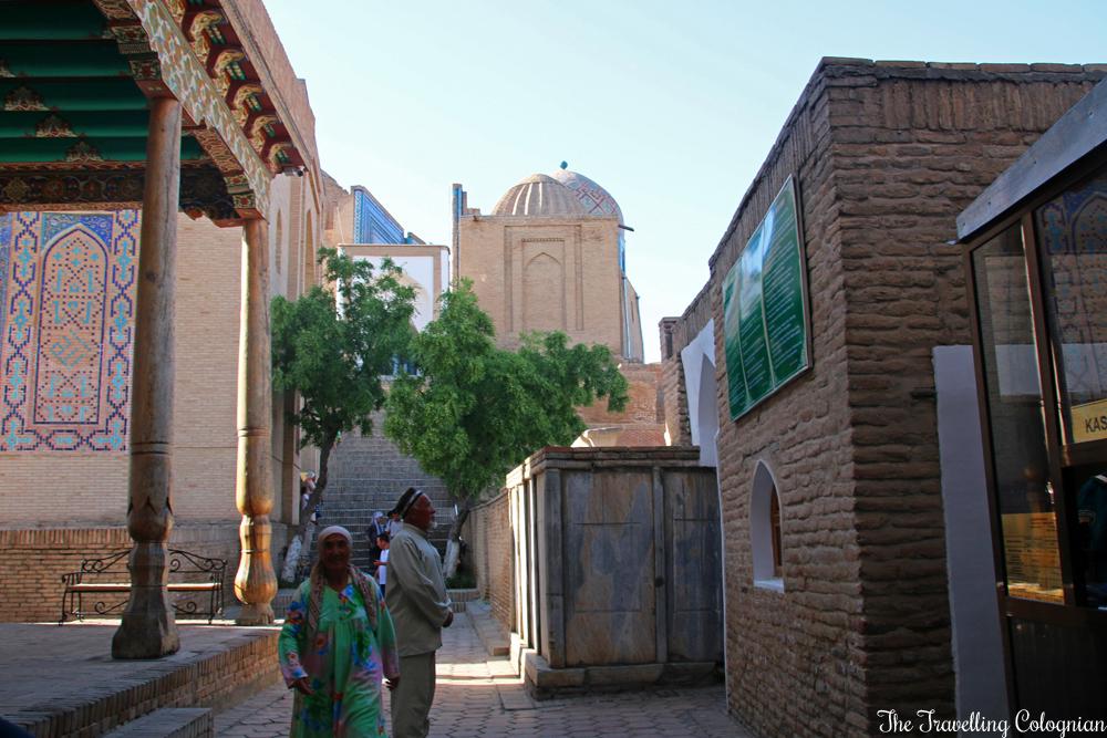 The - Jewels of Samarkand - Shah-i-Zinda