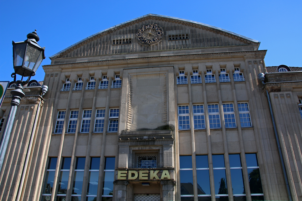 #RBRUHR Reisebloggertreffen in Essen - Grüne Hauptstadt Europas 2017 - Gartenstadt Margarethenhöhe - historisch anmutender Supermarkt