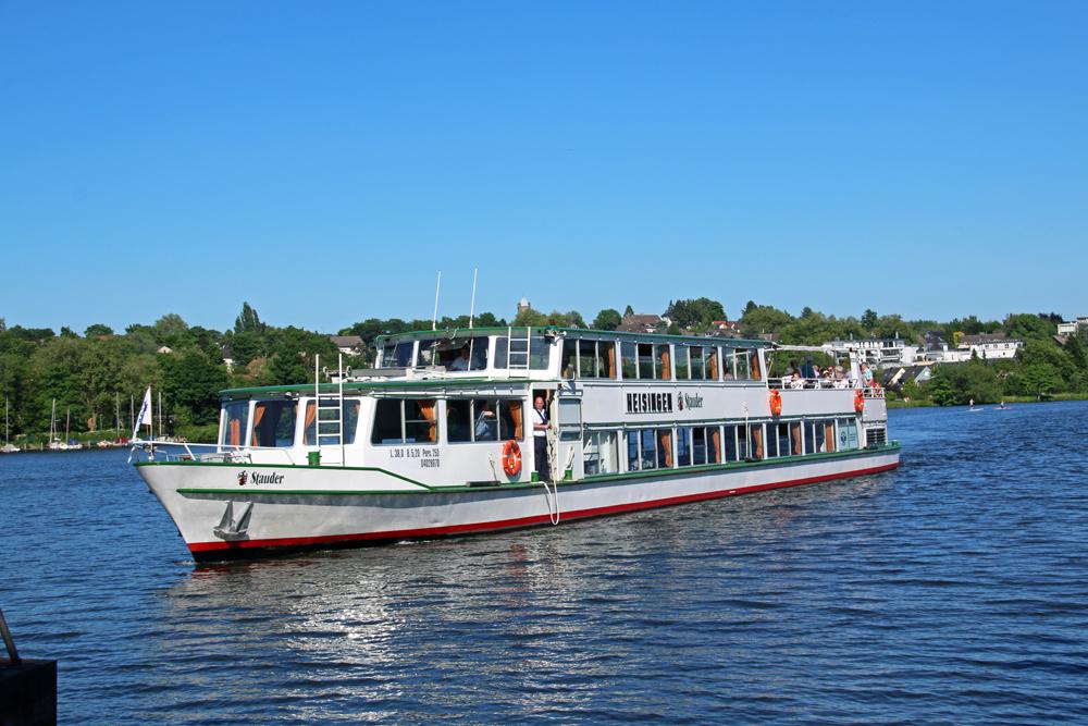 """#RBRUHR Reisebloggertreffen in Essen - Grüne Hauptstadt Europas 2017 - Baldeneysee - Schiff der """"Weißen Flotte"""""""