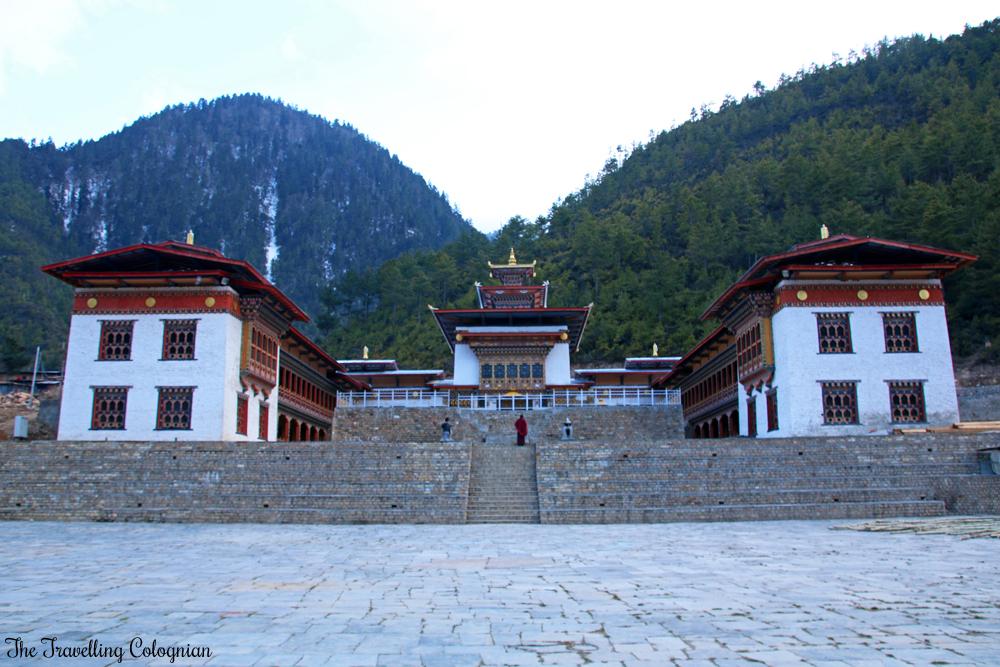 Bhutan Adventure Lhakhang Karpo White Temple Haa Valley Bhutan Himalayas ASIA