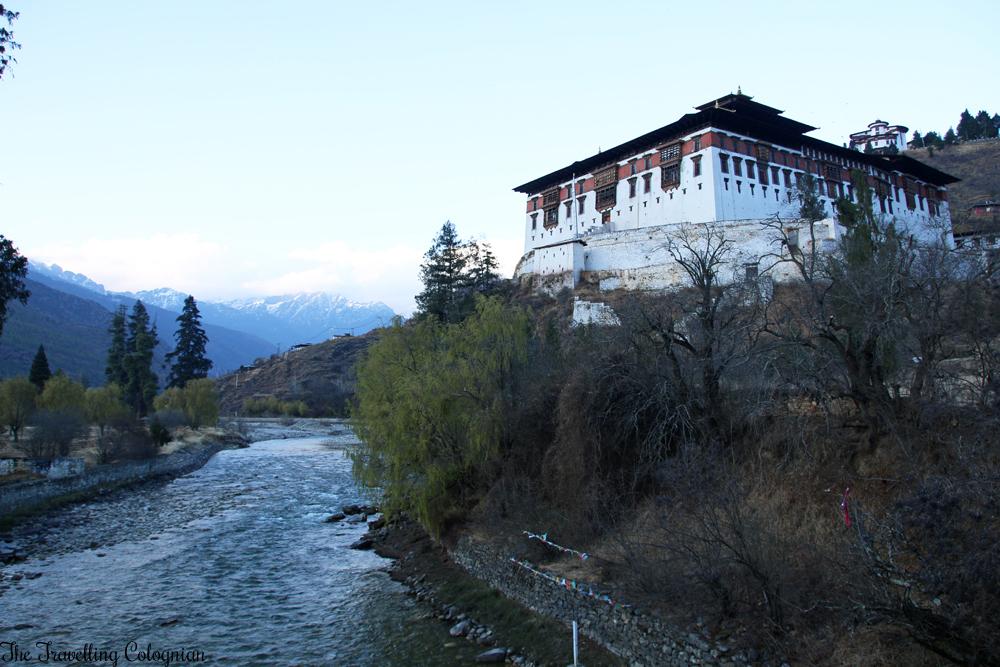 Bhutan Adventure Paro Dzong Paro Bhutan Asien