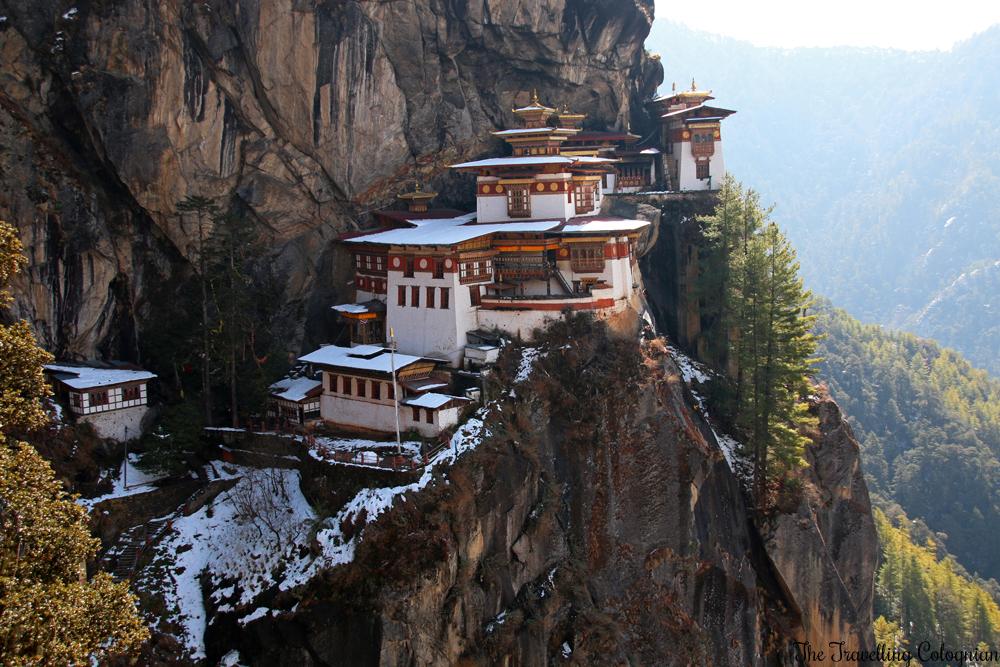 Reiseblogger-Rückblick 2017 Bhutan mit G Adventures Tigernest Taktshang-Kloster Bhutan Asien