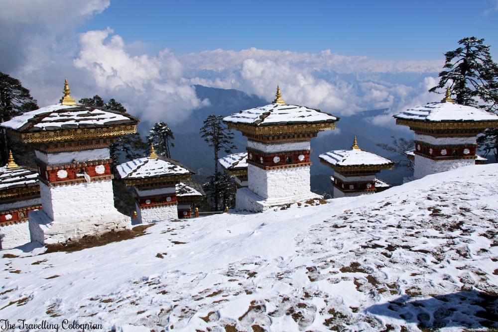 Bhutan Adventure Dochula Pass Bhutan Himalayas ASIA