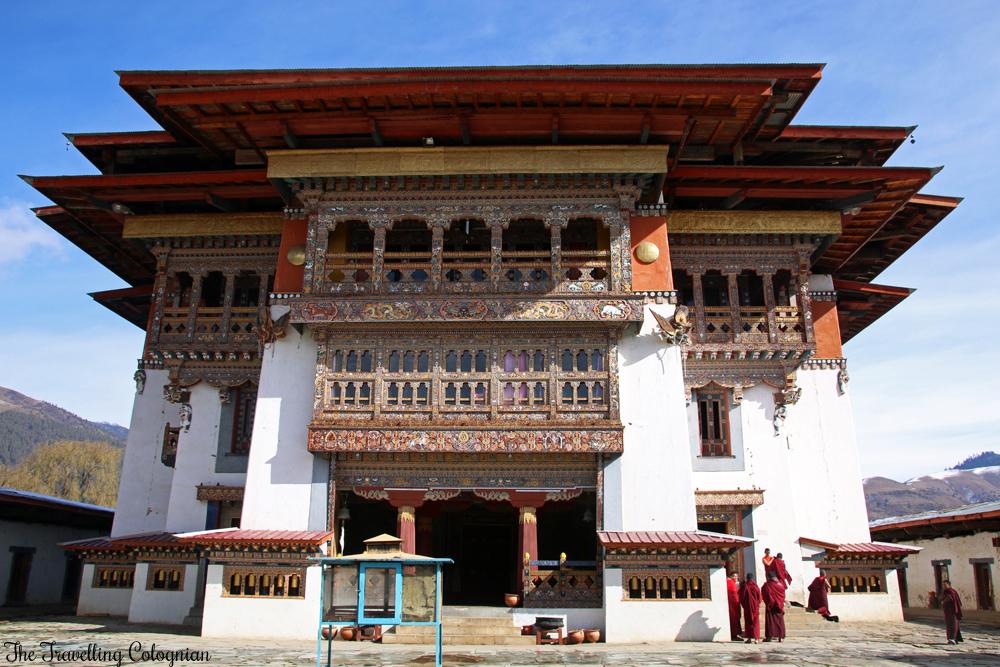 Bhutan Adventure Gangtey Gompa Gangtey Valley Bhutan Himalayas ASIA