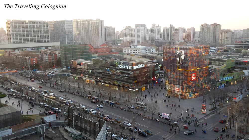 Reiseblogger-Rückblick 2017 Aussicht von der Hutong School Sanlitun Peking China ASIEN