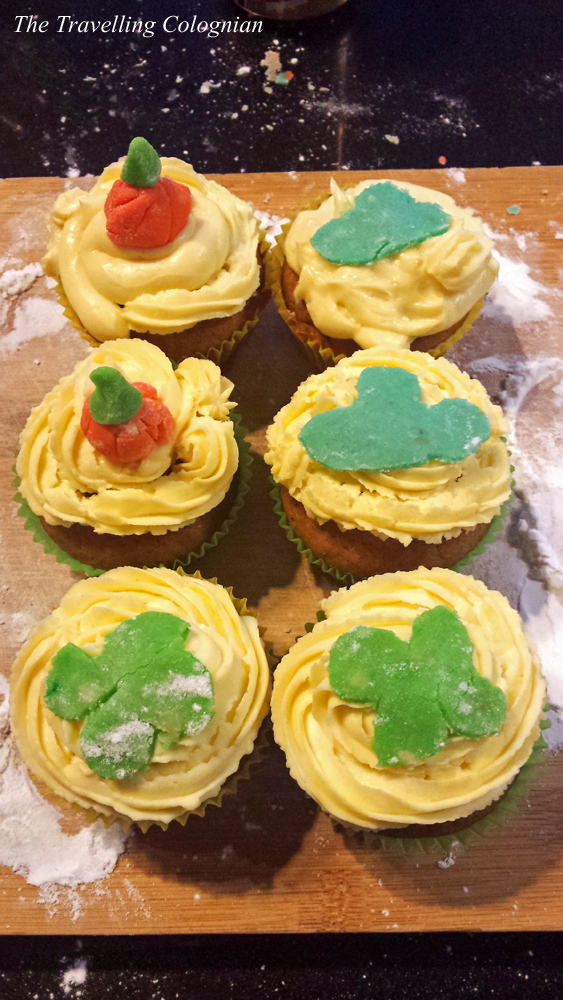 "Reiseblogger-Rückblick 2017 Pumkin Cupcakes-Backkurs ""The Hutong"" Beixinqiao Peking China ASIEN"