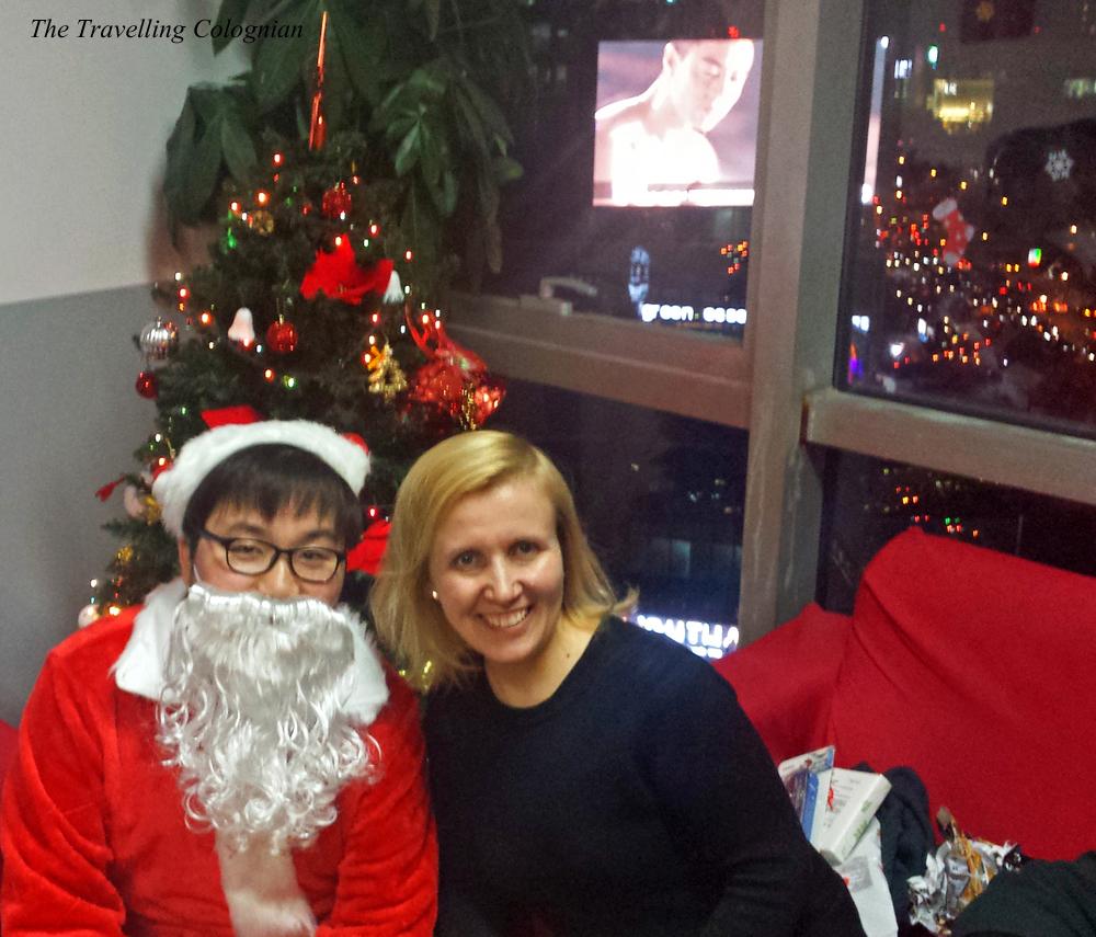 Reiseblogger-Rückblick 2017 Weihnachtsfeier Hutong School Sanlitun Peking China ASIEN