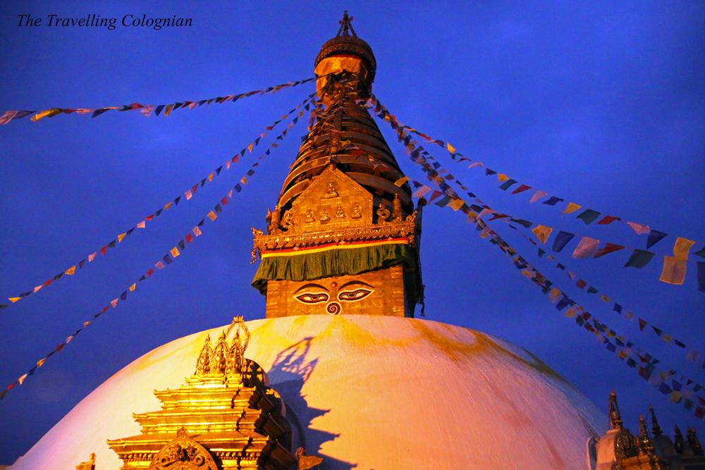 Reiseblogger Rückblick 2017 Swayambunath-Tempel Kathmandu Nepal Himalaya Südasien ASIEN
