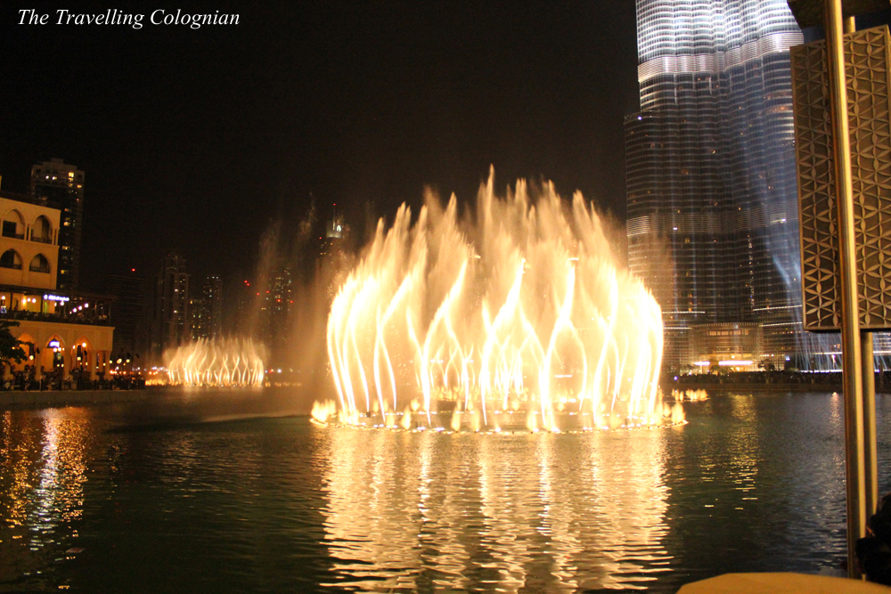 Reiseblogger-Rückblick 2017 Dubai Fountain Dubai Mall Dubai United Arab Emirates