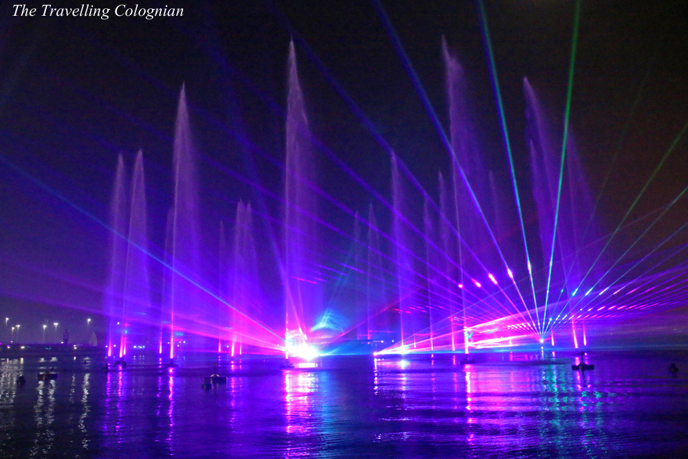 Reiseblogger-Rückblick 2017 Fire, Water & Light Show Dubai Festival City Dubai United Arab Emirates