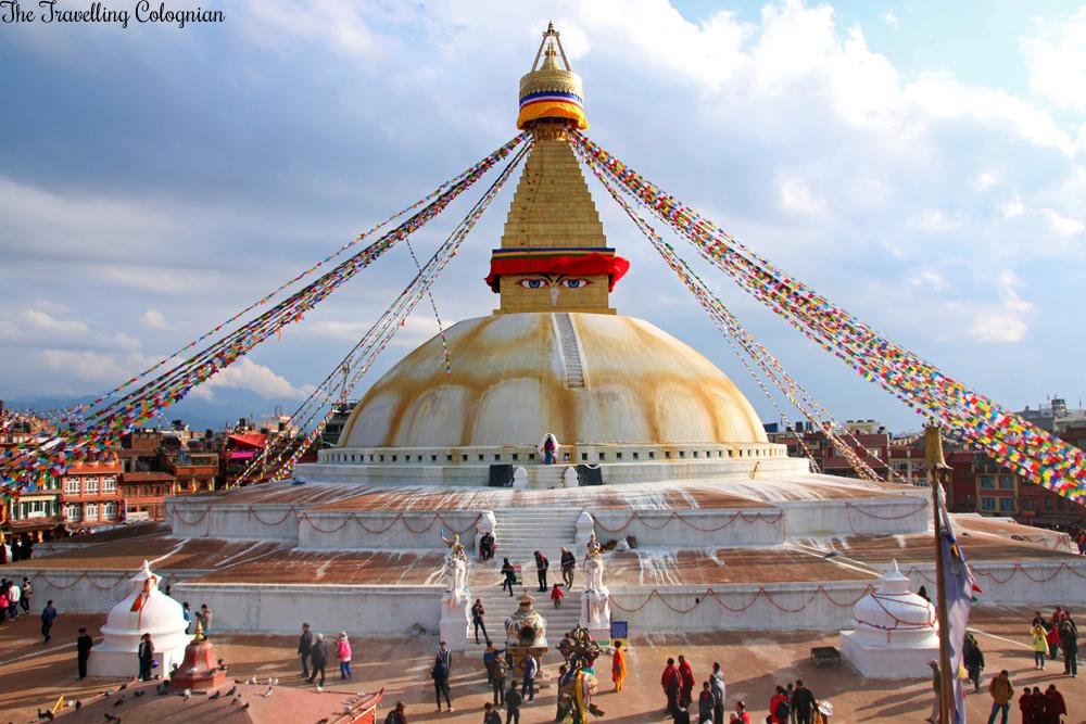 Reiseblogger-Rückblick 2017 Bodnath-Stupa, Kathmandu, Nepal, ASIEN