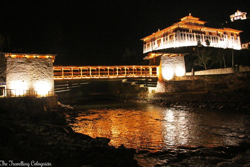 Reiseblogger-Rückblick 2017 Paro-Dzong Paro Bhutan Himalayas Südasien ASIEN