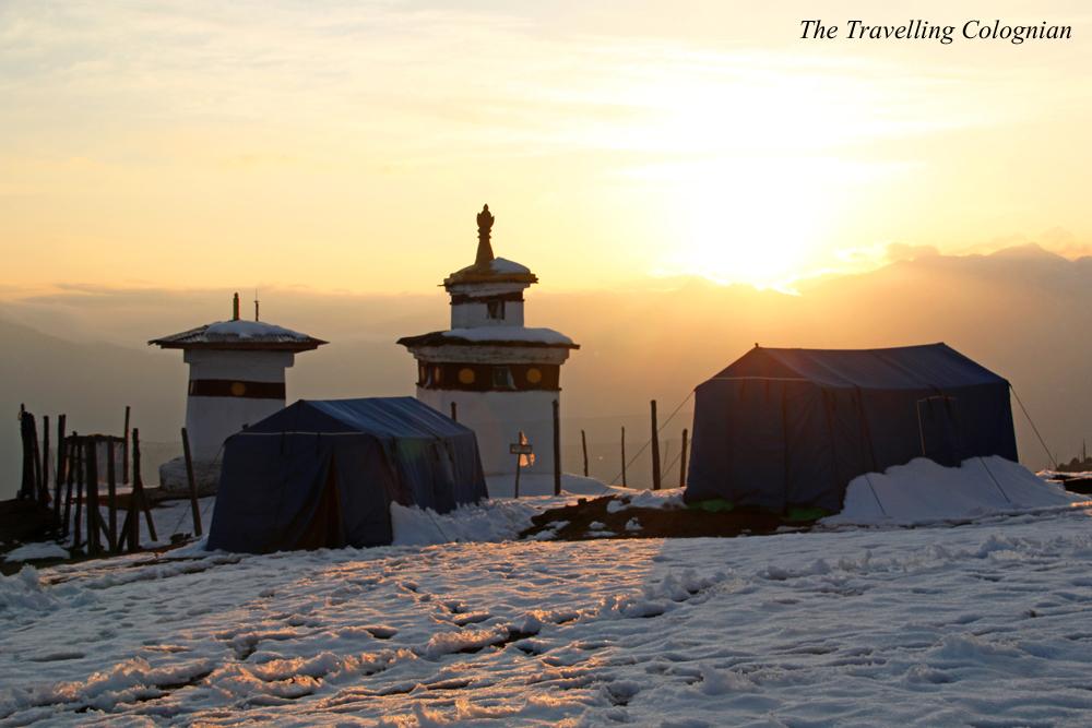 Reiseblogger-Rückblick 2017 Bumdrak Camp Bhutan Himalaya Südasien ASIEN