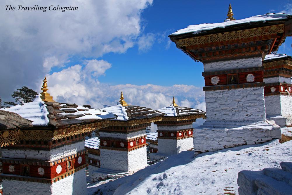 Reiseblogger-Rückblick 2017 Dochula-Pass Bhutan Himalaya Südasien ASIEN
