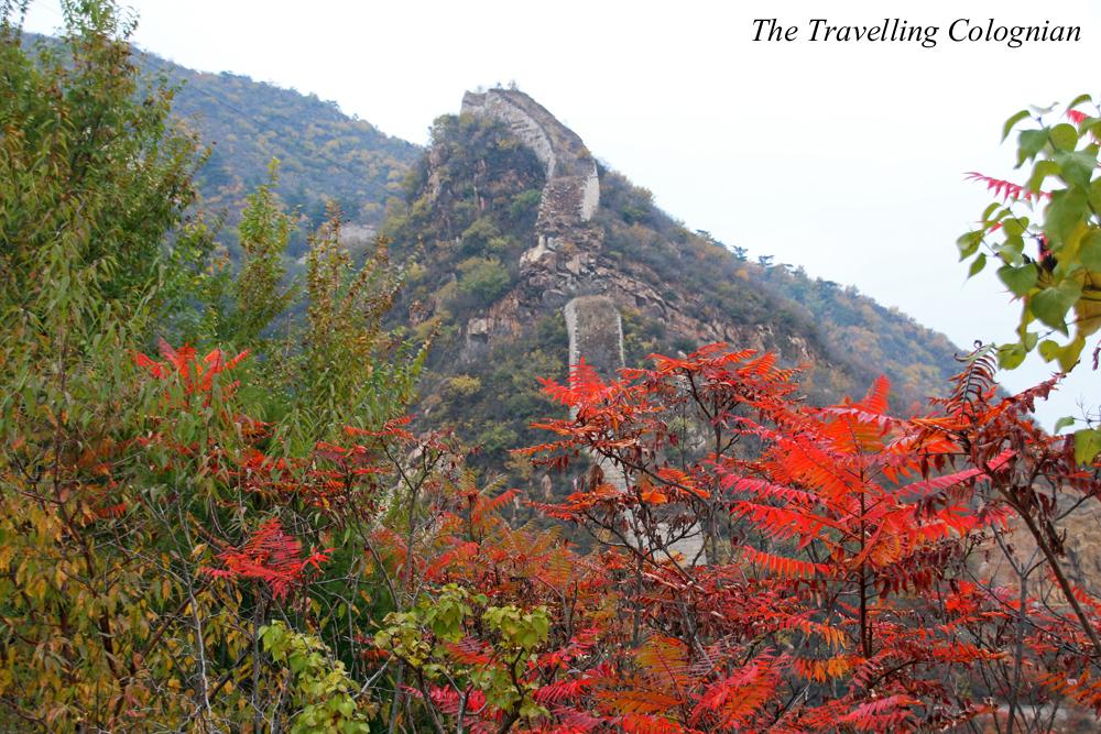 Reiseblogger-Rückblick 2017 Chinesisch Mauer in Longquanyu Yanqing China ASIEN