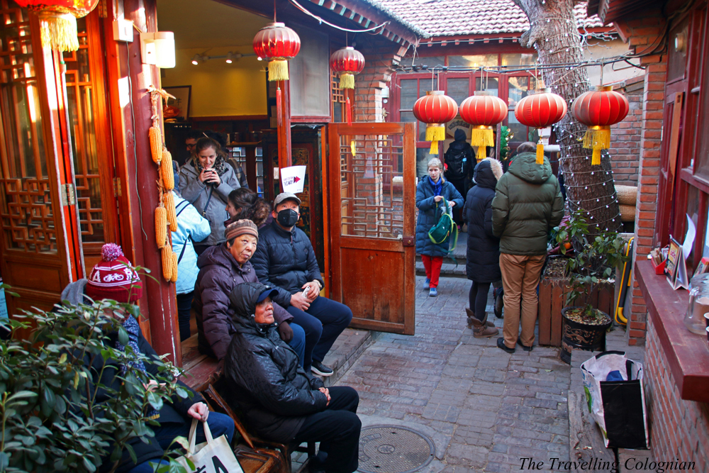 "Winter Fayre ""The Hutong"" Beixinqiao Beijing China ASIA"