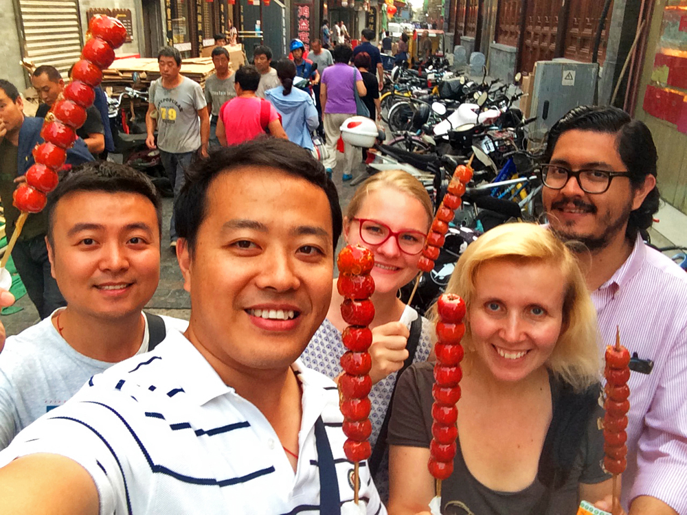 Reiseblogger-Rückblick 2017 Qianmen-Straße 2017 Peking China ASIEN