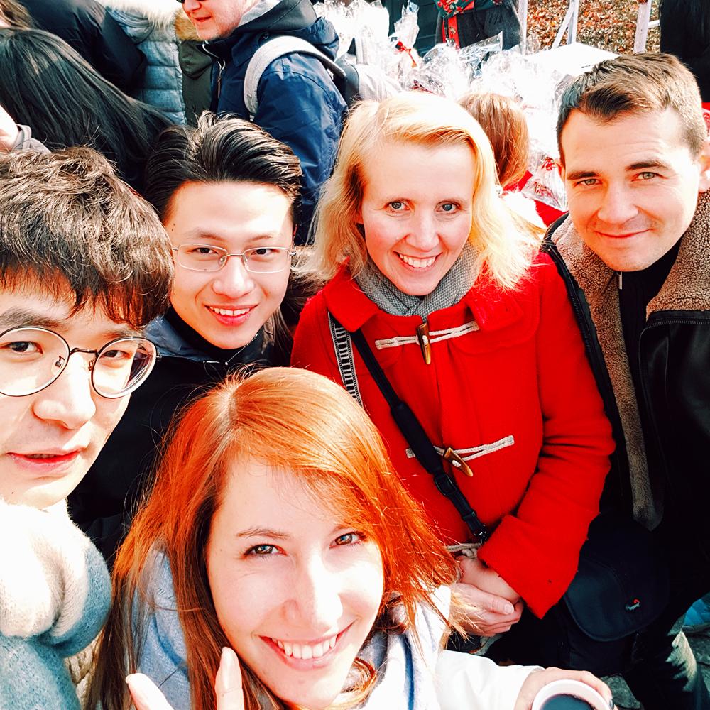 Reiseblogger-Rückblick 2017 Weihnachtsbasar Deutsche Botschaft Peking China ASIEN